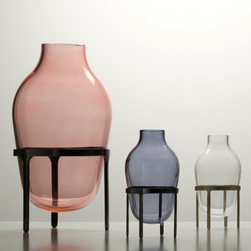 'Titus' glass vases by Jaime Hayon, from £400 each, Paola C (paolac.com)