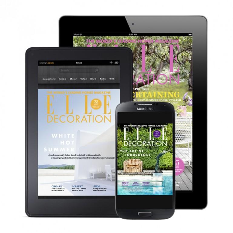 ELLE Decoration digital editions