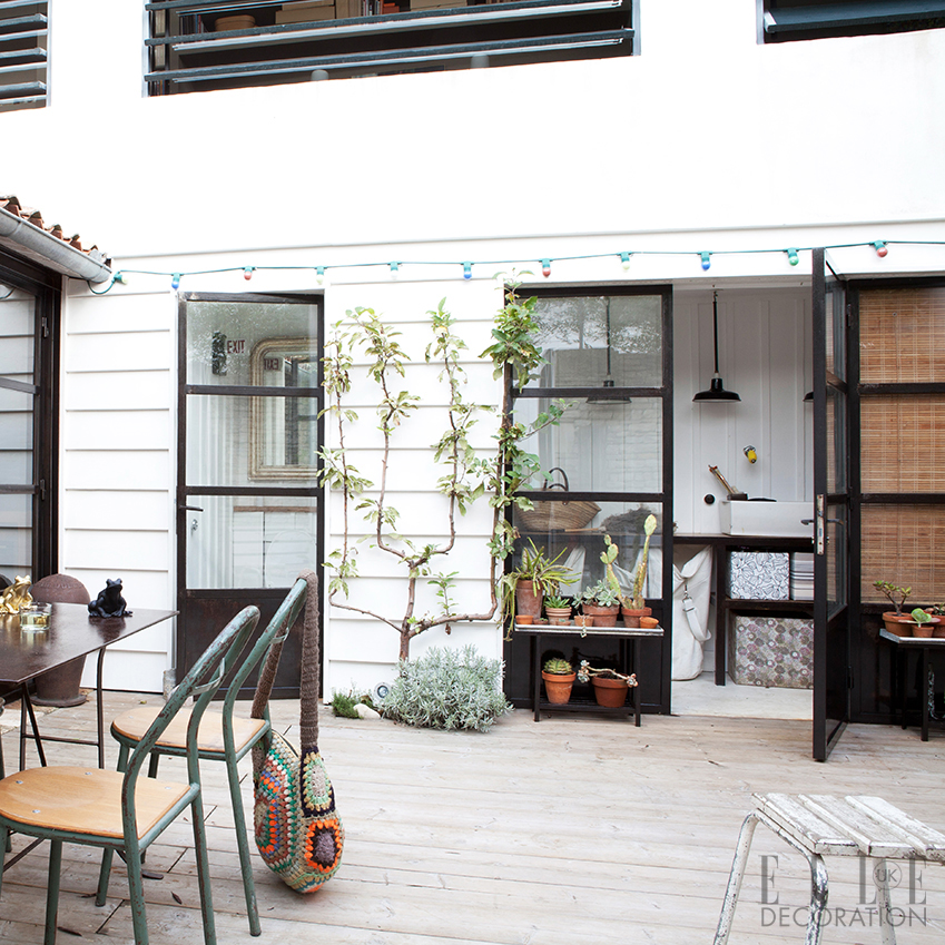 Outdoors inspiration and decoration ideas elle decoration uk for Outside laundry designs