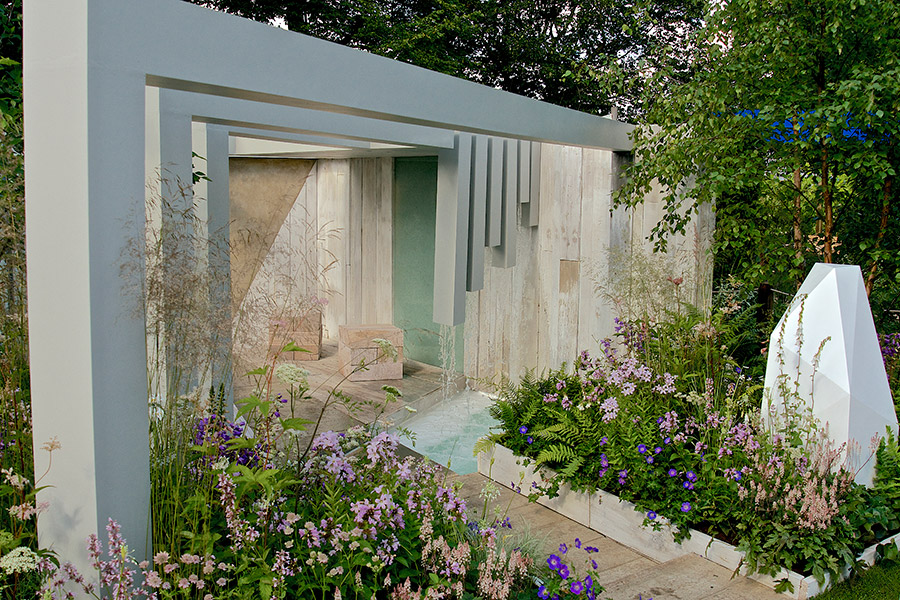 Garden of Solitude, designed by Alexandra Froggatt Photo courtesy RHS and Tim Sandall