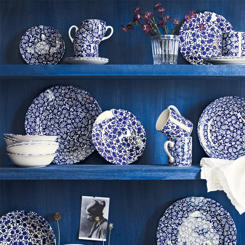\u0027Blackberry\u0027 tableware  sc 1 st  ELLE Decoration UK & Marks \u0026 Spencer\u0027s indigo tableware | ELLE Decoration UK