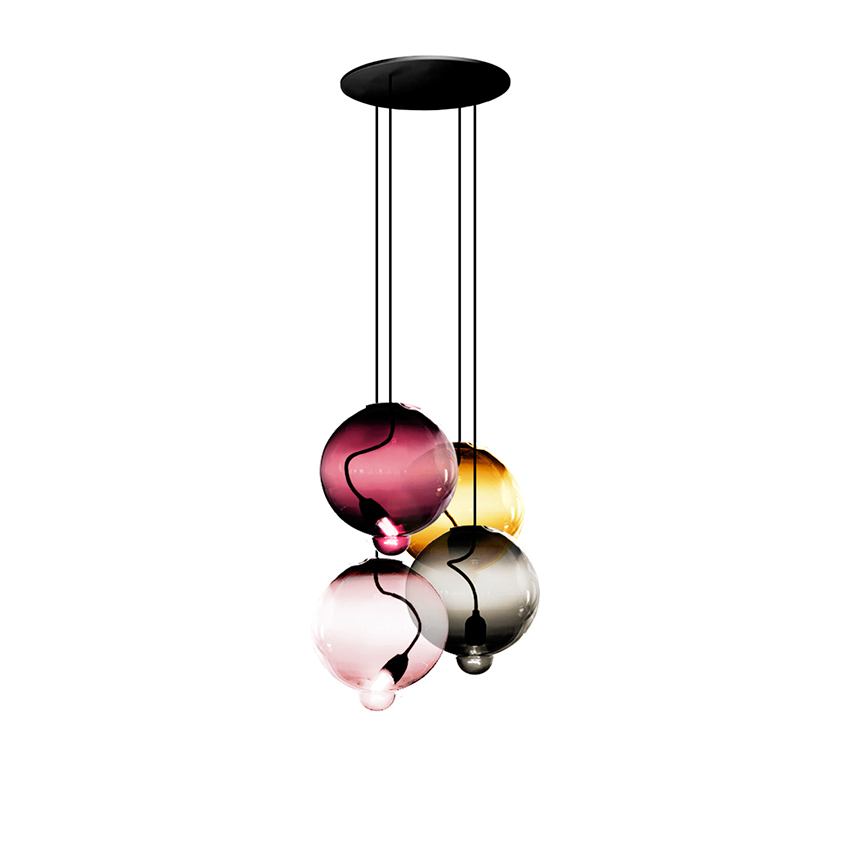 'Meltdown' pendant light by Johan Lindstén, £1,630, Cappellini (cappellini.it)