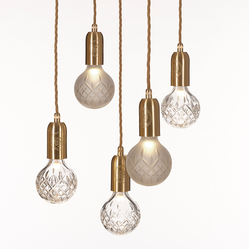 'Clear Crystal Bulb' lights, from £220, Lee Broom (leebroom.com)