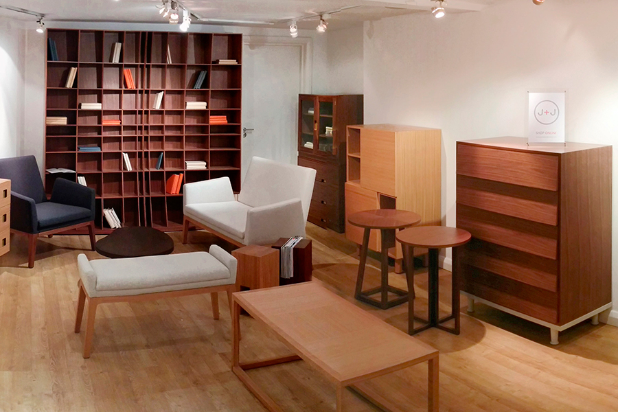 Joined + Jointed's showroom in London's New Kings Road