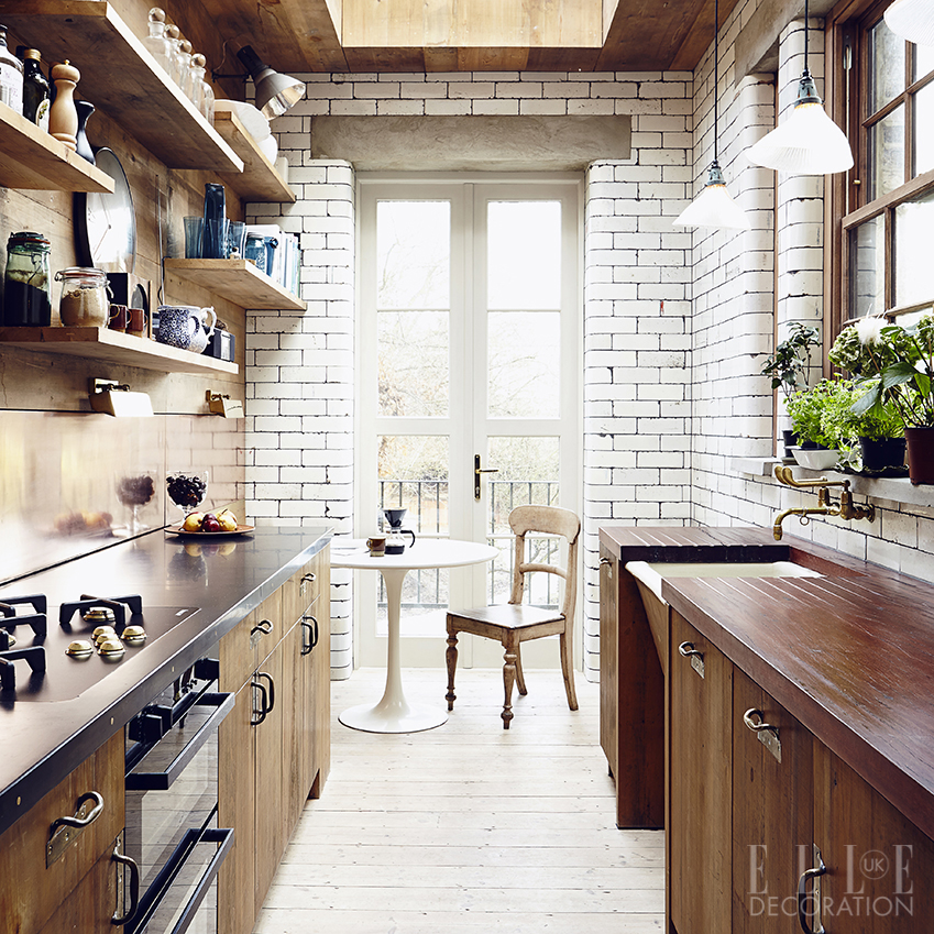 A New Extension To A 19th Century London Property Houses This Kitchen,  Which Has