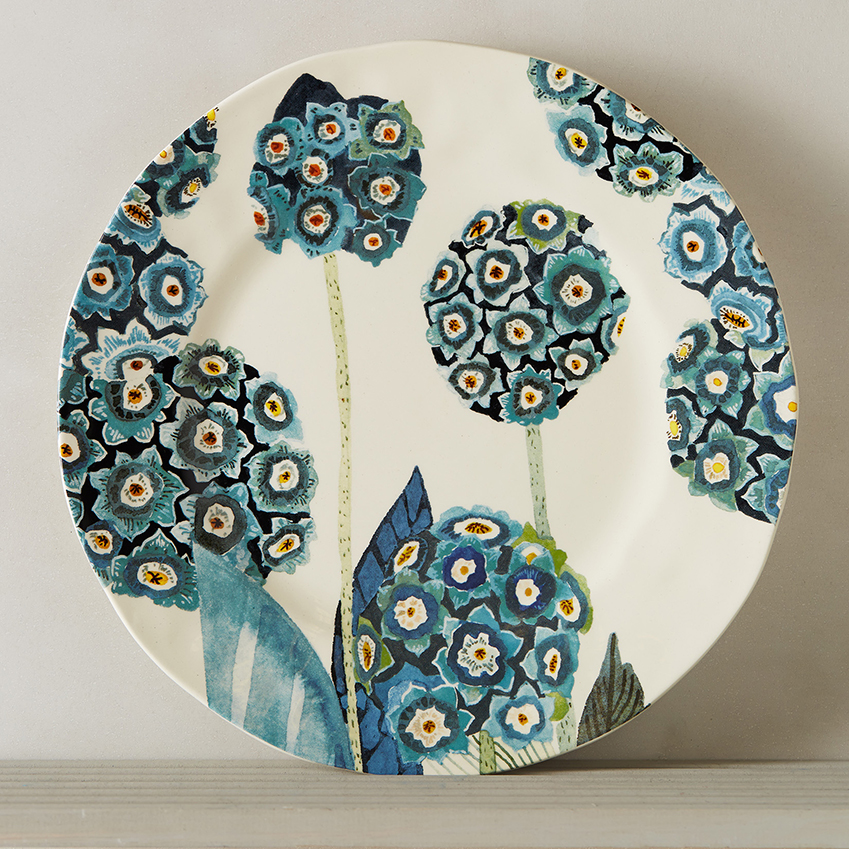 u0027Garden Buzzu0027 dinner plate £16 Anthropologie (anthropologie.eu)  sc 1 st  ELLE Decoration UK & Patterned plates | ELLE Decoration UK