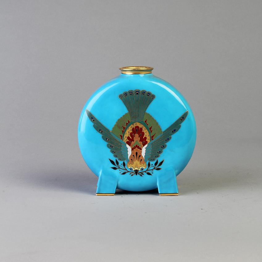 Minton & Co flask vase