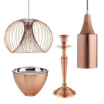 Sainsbury's copper accessories