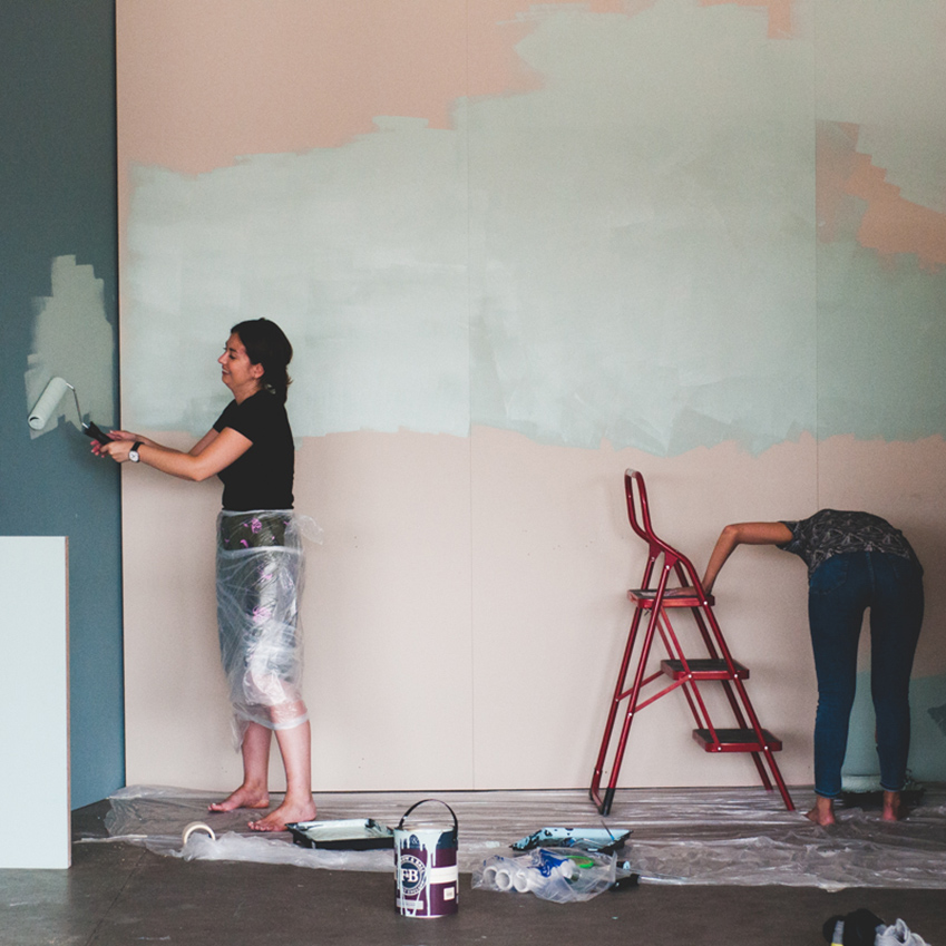 Painting-the-walls