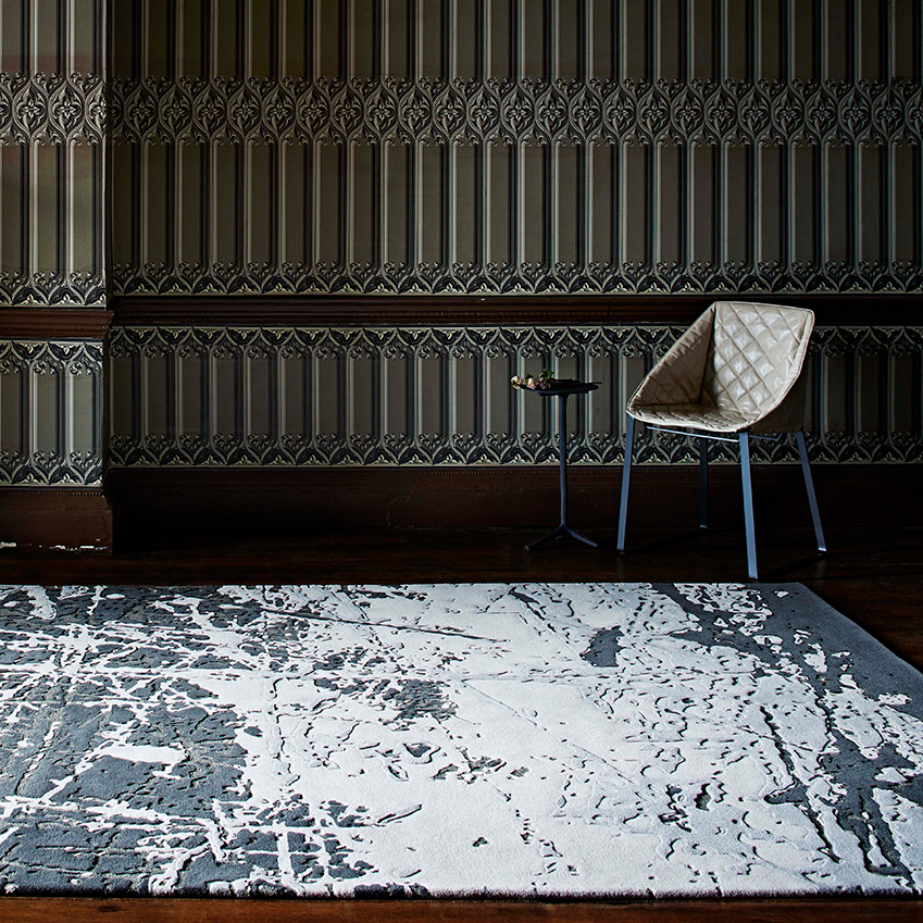 'Scratched' rug by Staffan Tollgård, from £695 per square metre, JAB Anstoetz (jab-uk.co.uk)