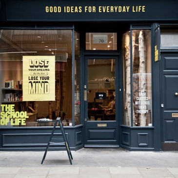 The School of Life: 70 Marchmont St, Kings Cross, London WC1N 1AB