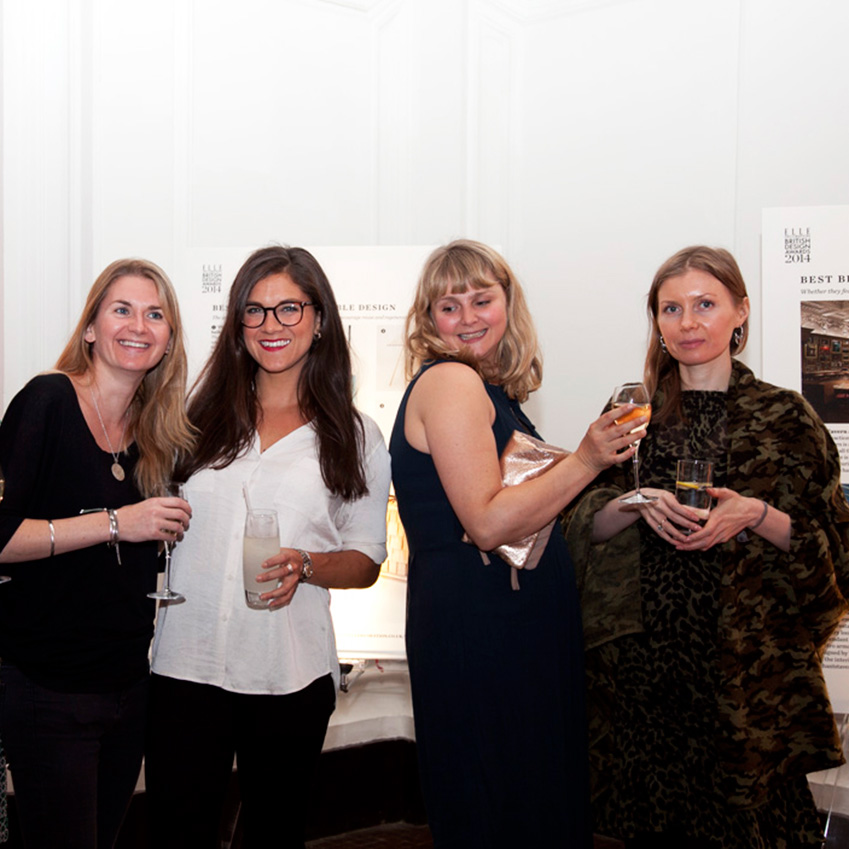 The british design awards 2014 the party elle decoration uk for Amy bradford elle decoration