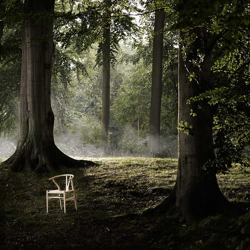 Limited-edition Wishbone chair