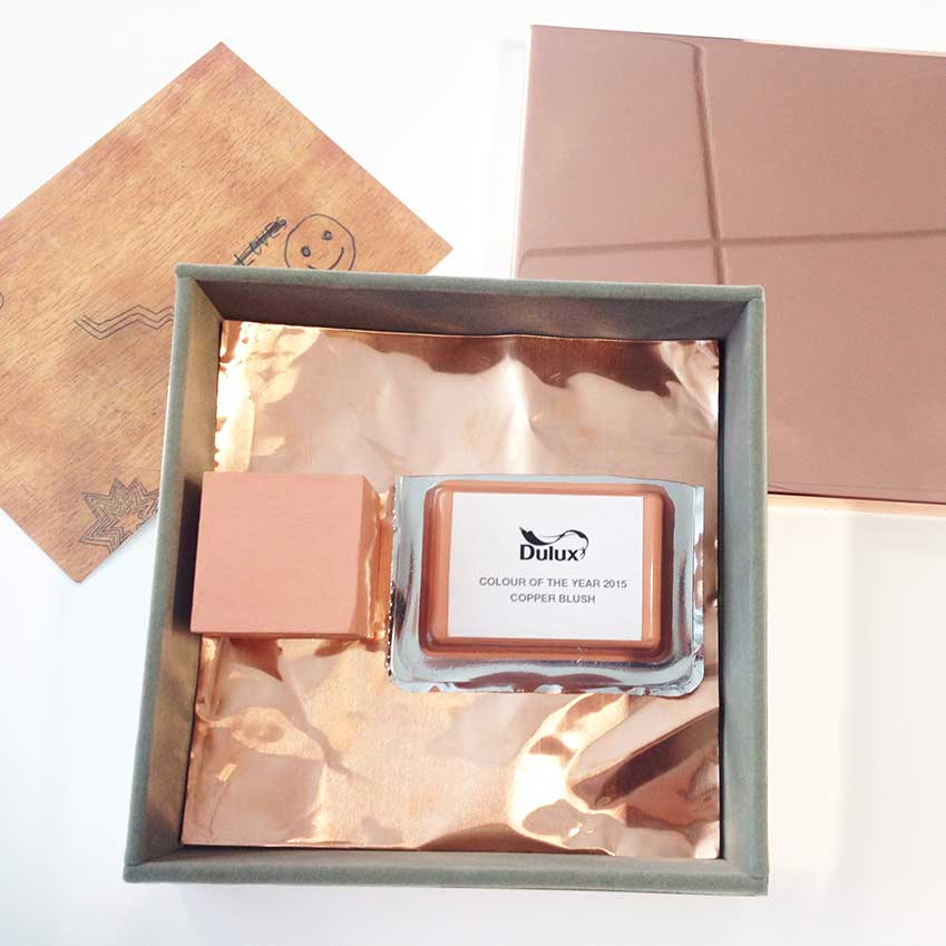 Copper Blush by Dulux