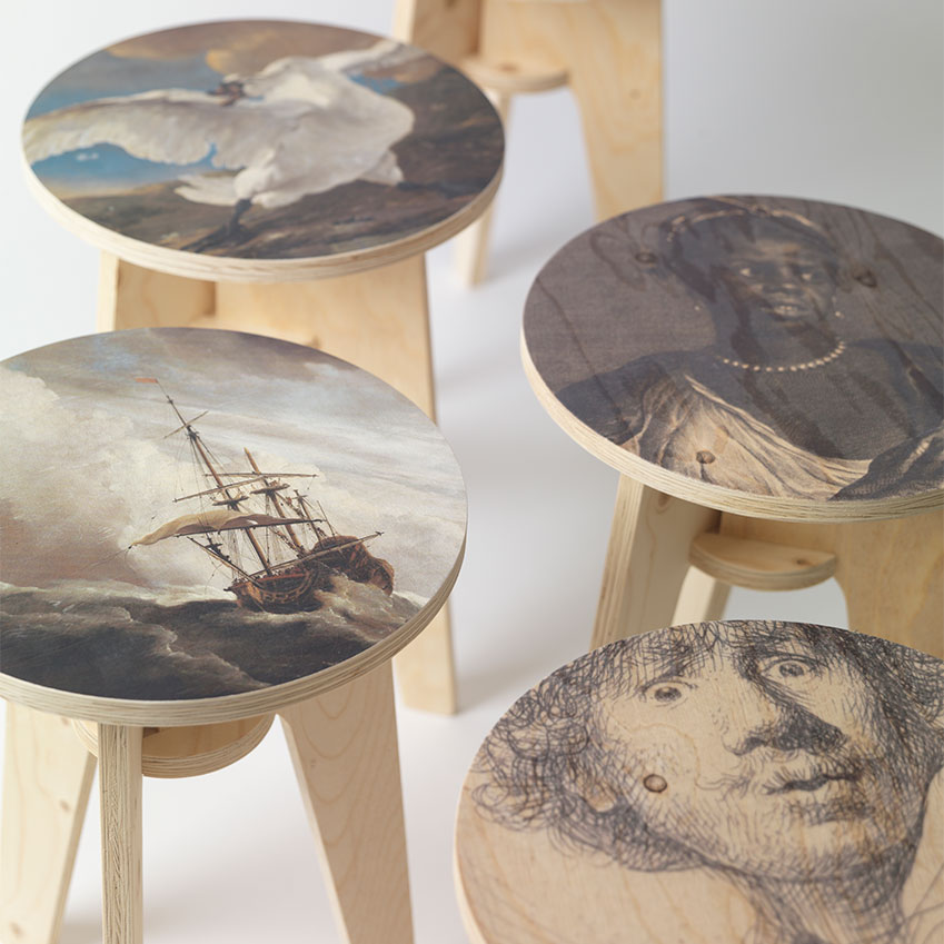 NLXL Labs Plywood-Stools