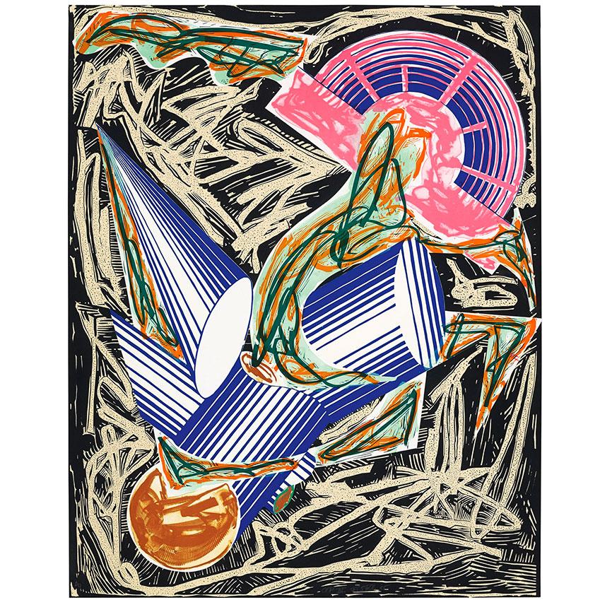 Exhibition Artist Frank Stella S Illustrations Elle