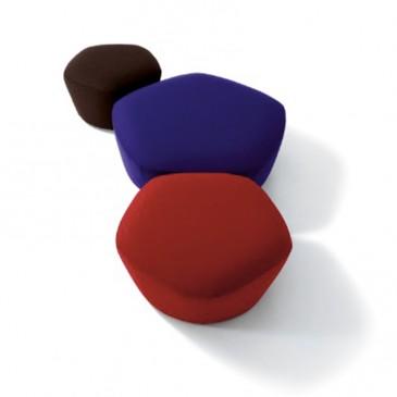'Penta' poufs by Claesson Koivisto Rune for Arflex, from £1,047, Bianchi Furniture