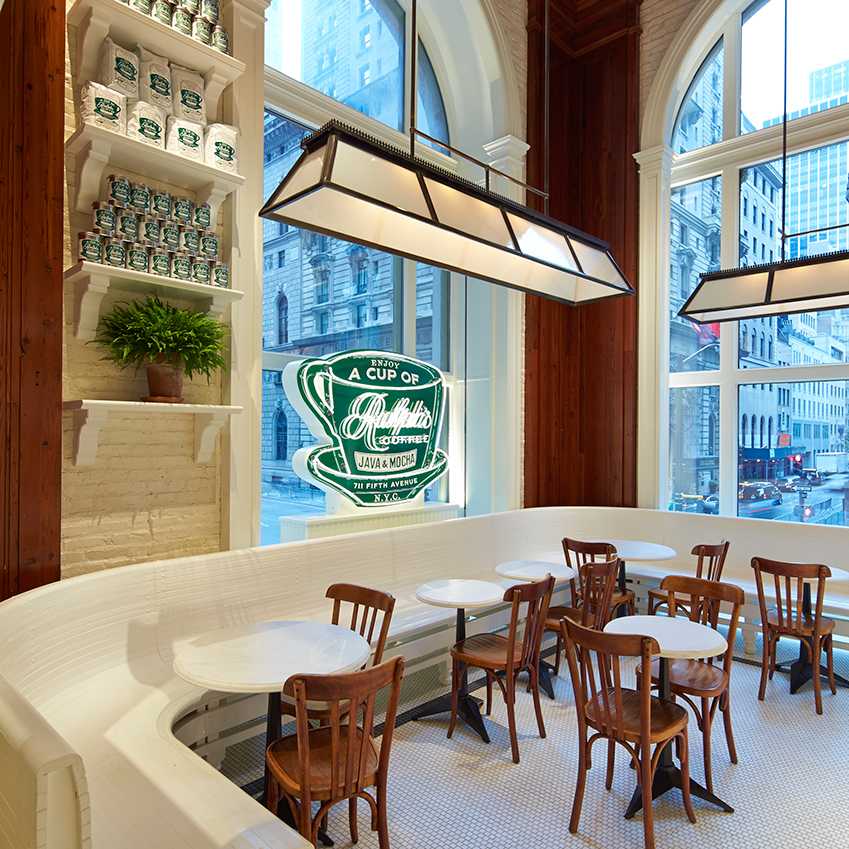 Elle Decoration Uk Ralph S Coffee Opens In New York