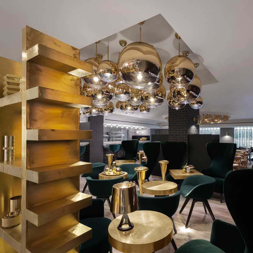 Tom Dixon Sandwich Eatery Opens At Harrods Elle