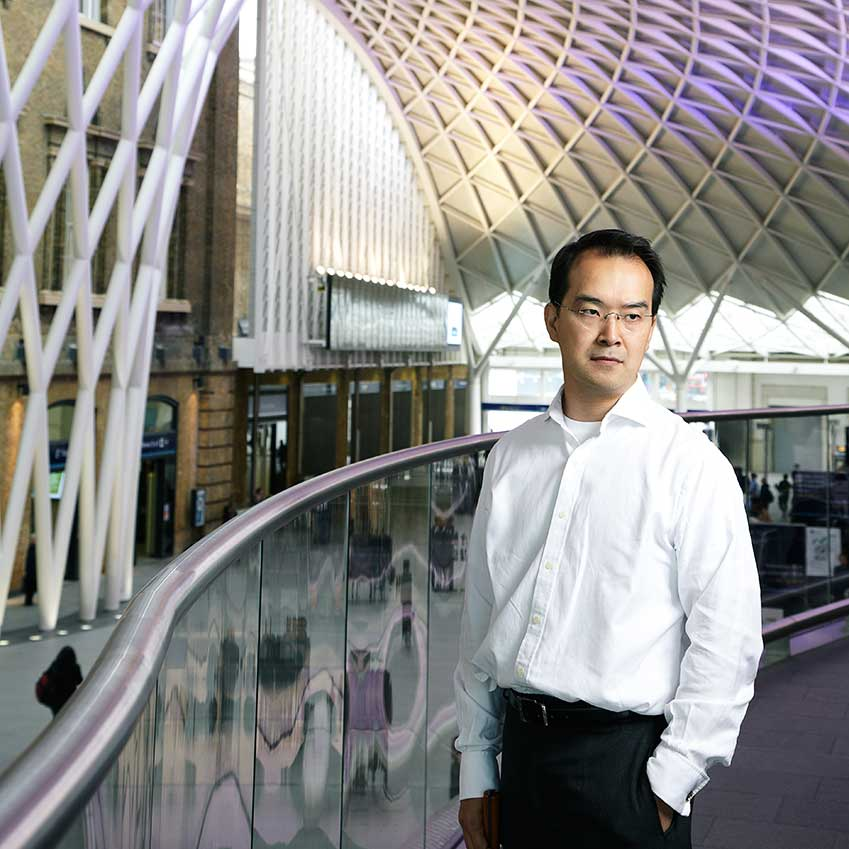 THIRD PLACE: WESTERN CONCOURSE AT KING'S CROSS STATION – King's Cross is a 19th-century monument that has experienced a staggering renovation. John McAslan + Partners' soaring canopy of steel and glass transforms what was a dingy, overcrowded space into a cathedral of light. Director Hiro Aso is pictured (mcaslan.co.uk)