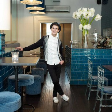 Lee Broom at Coquine Bar