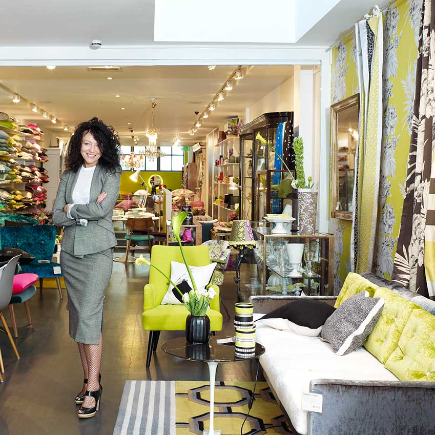 BEST BRITISH DESIGN BRAND: DESIGNERS GUILD – Set up in 1970 by Tricia Guild (pictured) with a single showroom on London's King's Road, Designers Guild has put its vibrant stamp firmly on our interiors. Forty years later, you can buy its fabrics, wallpapers and bed linen in more than 60 countries. It sells Tricia's own designs and top Brit names such as Jasper Conran, plus the Royal Collection on behalf of the Royal Household (designersguild.com)