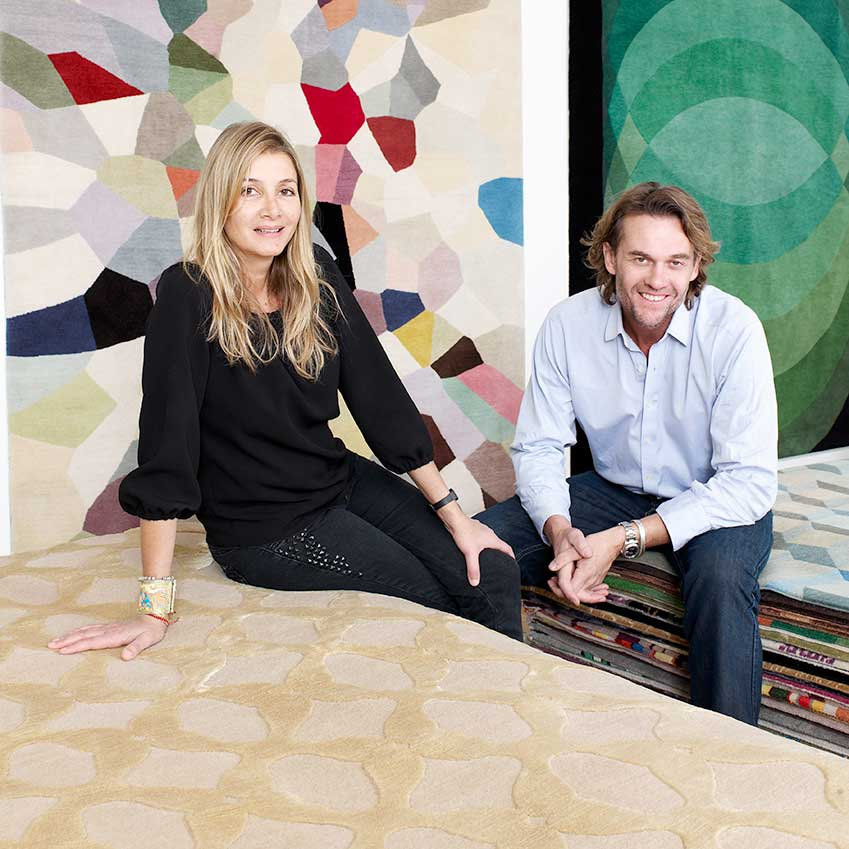BEST BRITISH DESIGN BRAND: THE RUG COMPANY –Since being set up in 1997, The Rug Company has established an unrivalled portfolio of designers creating rugs, wall hangings and cushions. Its founders – husband-and-wife team Christopher and Suzanne Sharp – have almost single-handedly revolutionised the way we think about rugs in our homes, turning them from humble utilitarian pieces into art for the floor (therugcompany.info)