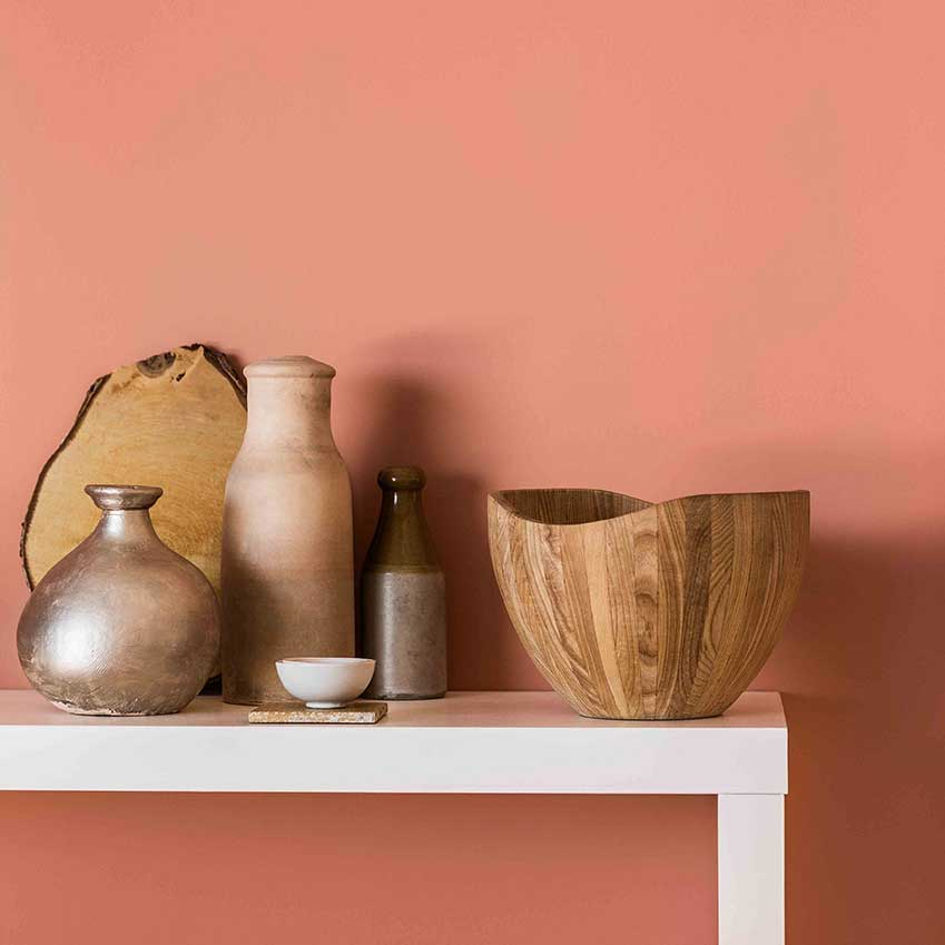 Warm Copper Blush Is Duluxs Colour Of The Year 2015