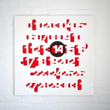 'Imbroglio' wall calendar by Jean-Pierre Vitrac, £60, Twenty Twenty One (twentytwentyone.com)