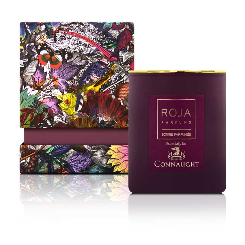 Artist Kristjana S Williams plus master perfumer Roja Dove created a candle to capture the spirit of Mayfair hotel The Connaught. Think comforting and sophisticated, with notes of amber, vanilla and tonka bean mingling with sandalwood and floral notes. Williams' colourful packaging echoes the hand-cut wallpaper artwork she has created for the hotel's Espelette restaurant. £55 (the-connaught.co.uk)