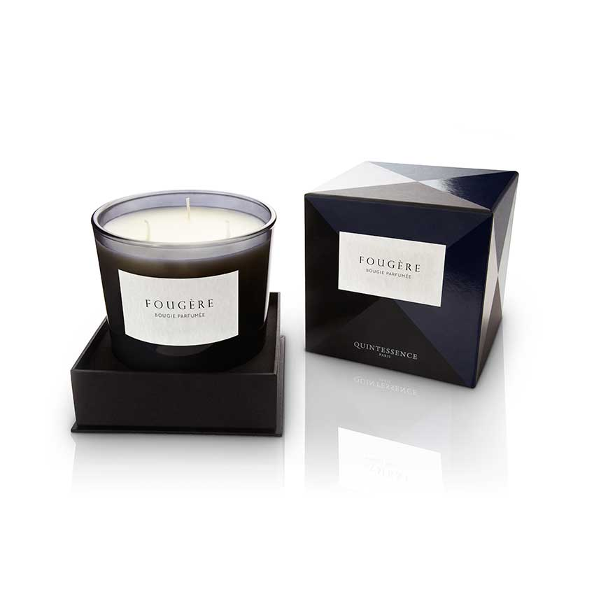 'Fougère' candle by Paris brand Quintessence, a green, fern-like fragrance that's perfect for the colder months, £57. Available from Delyss is a one-stop online shop for fine home scents from around the world alongside accessories such as candlesticks, lanterns and matches in pretty packaging.
