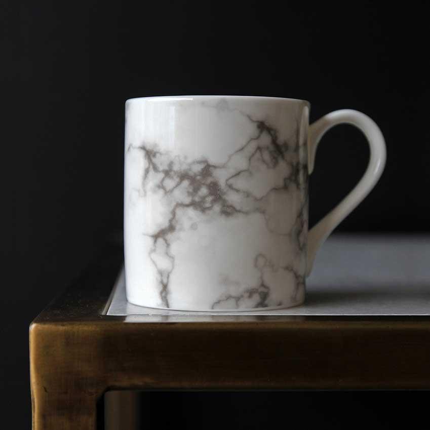 Marble Printed Mug By Gary Birks, £12, Rockett St George (rockettstgeorge