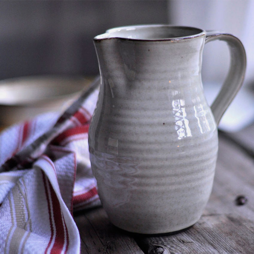 Dignify – This website collates items produced by brands that have ethical aims. This pitcher (£27) is by Vancouver firm Just Potters, which teaches skills to people who face barriers to work, including addiction and physical and mental challenges (dignify.ca)