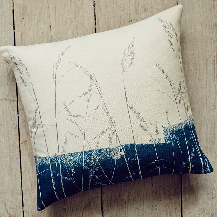 'Grasses' cushion from the 'Croft' collection by John Lewis (£30, johnlewis.com)