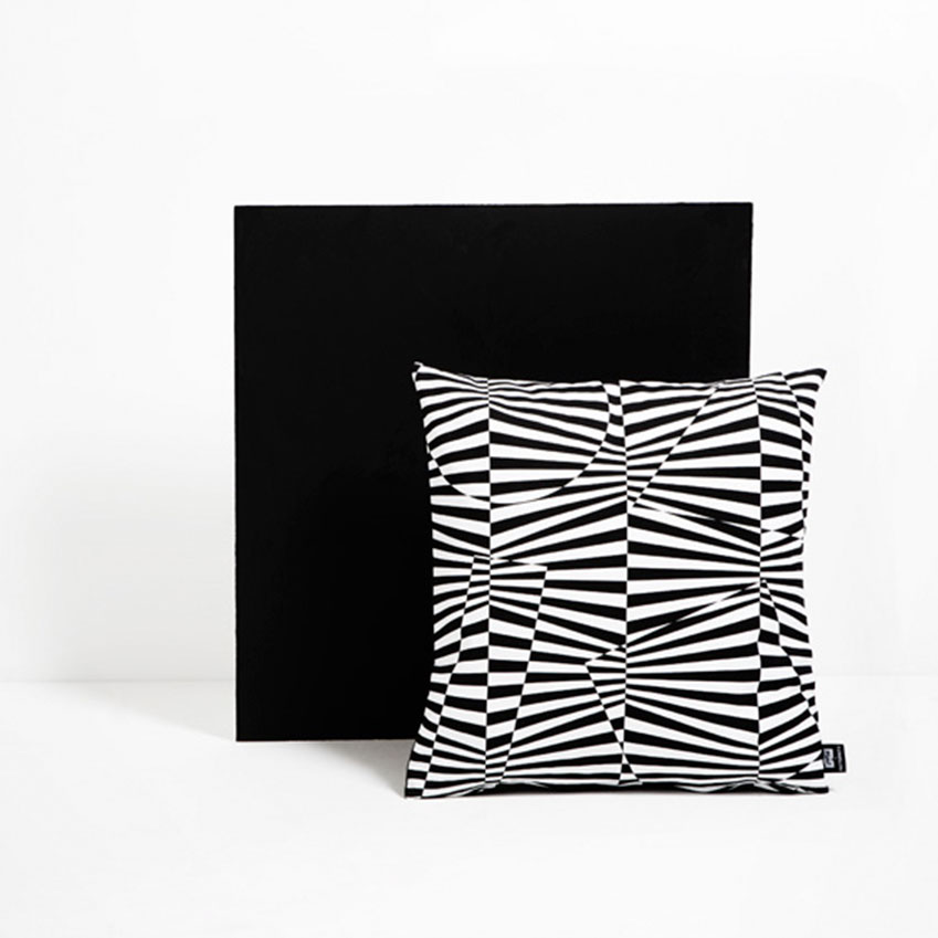 'Fleet of Dazzle' cushion by Patternity for the Imperial War Museum (£40, iwmshop.org.uk)