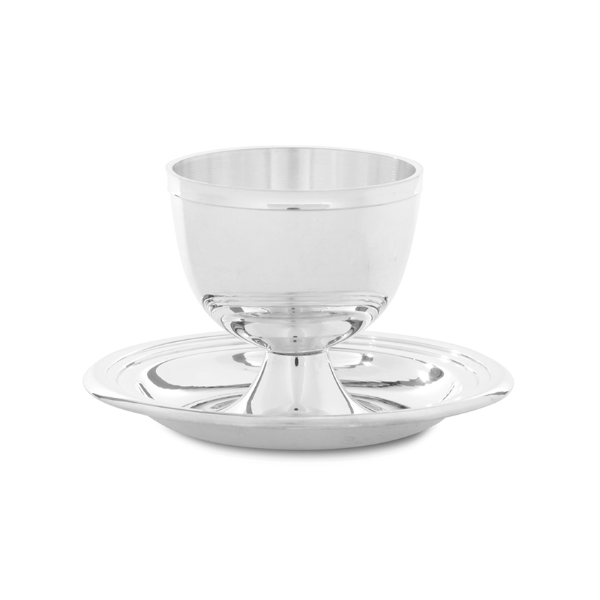 Silver-plated eggcup by Culinary Concepts, £29, Selfridges (selfridges.com)