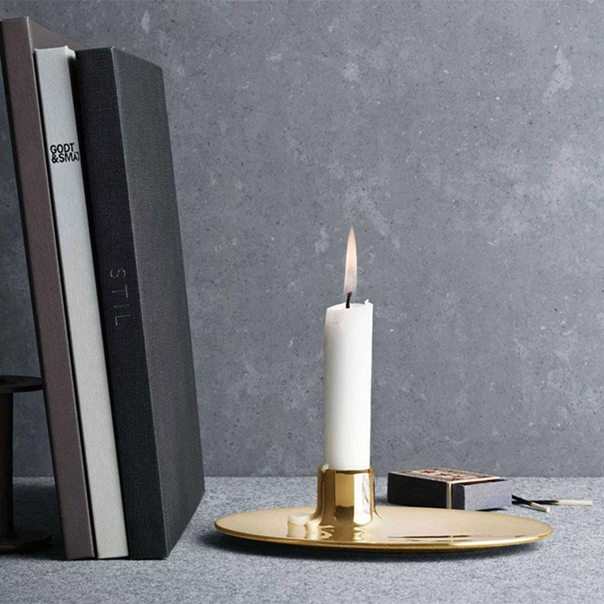 'Ilse' candleholder by Ilse Crawford for Georg Jensen, £85, Twenty Twenty One (twentytwentyone.co.uk)