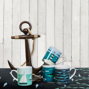 Magpie Ahoy mugs