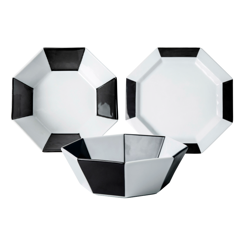 'Otto' tableware by Paola Navone for Reichenbach, from £50 for a bowl, The Conran Shop (conranshop.co.uk)