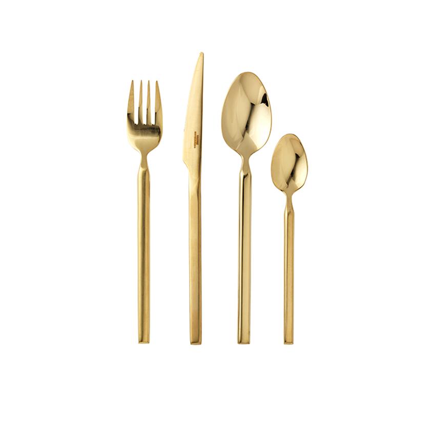 'Tvis' 16-piece cutlery set, £164, Broste Copenhagen (brostecopenhagen.com)