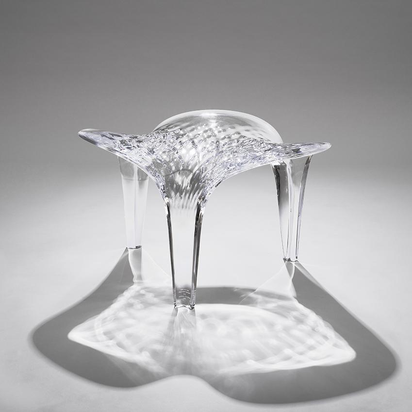 Zaha hadid 39 s 39 liquid glacial 39 elle decoration uk for Zaha hadid liquid glacial table