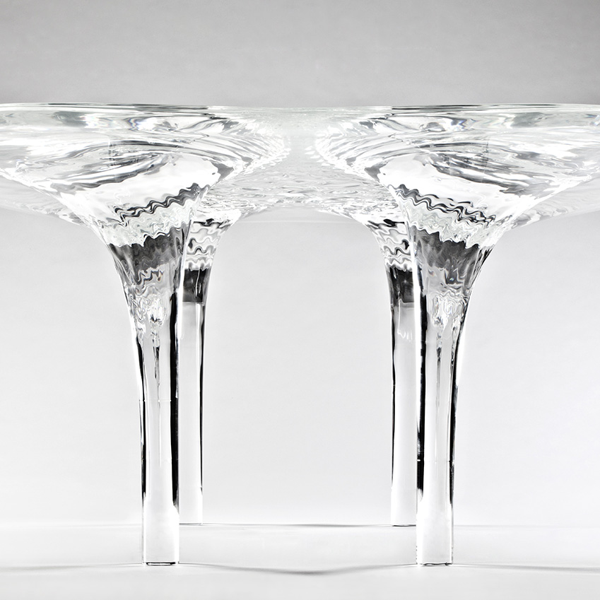Zaha hadid 39 s 39 liquid glacial 39 elle decoration uk for Zaha hadid liquid glacial