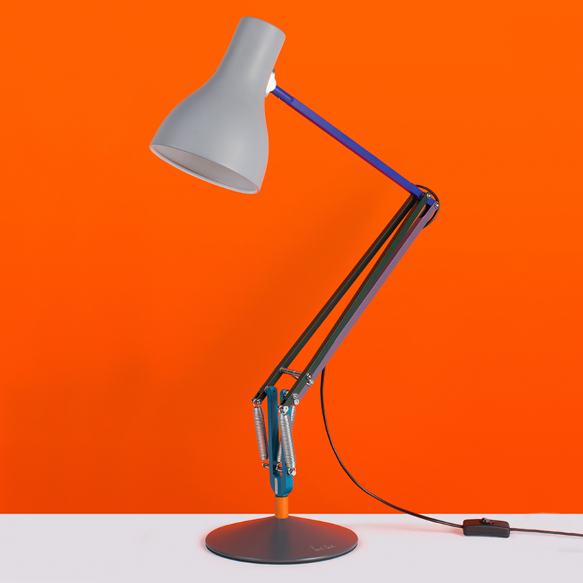 Designer Paul Smith Has Created A Sequel To His Modern Colourful Twist On The Classic Anglepoise Type 75 Desk Lamp New Edition