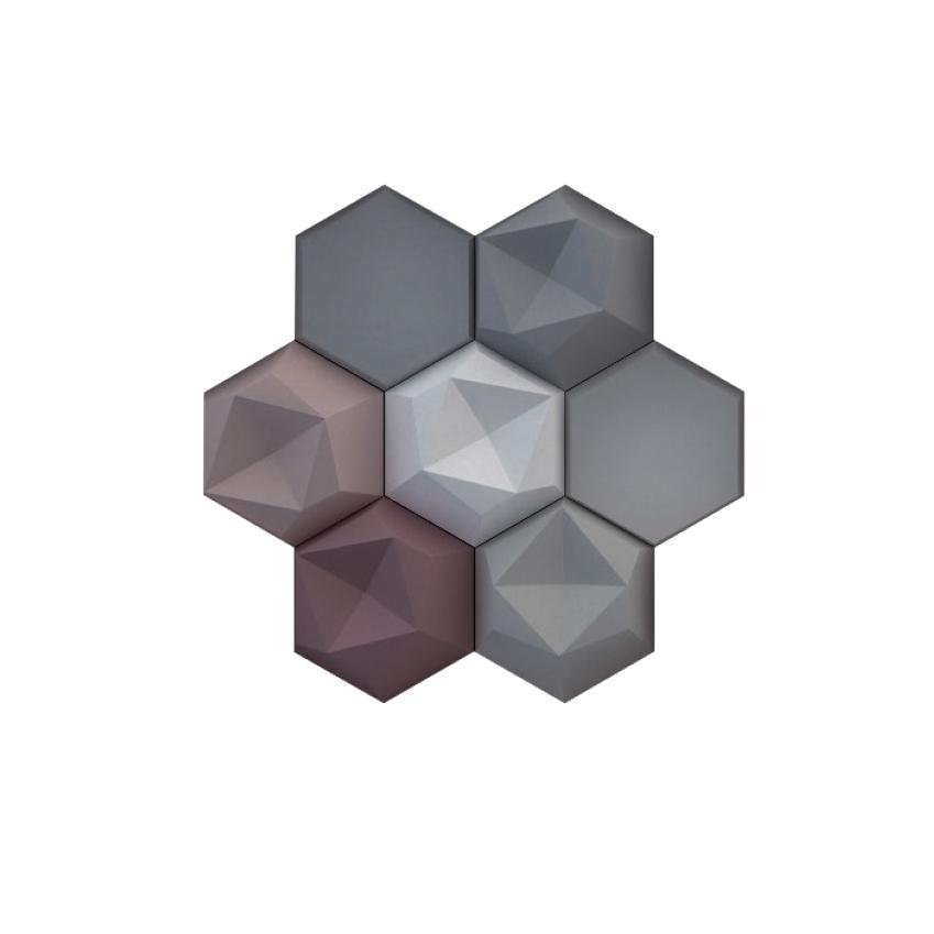Image 3 of 8: 'Edgy' tiles, £376.50 per square metre, Kaza (kazaconcrete.com)