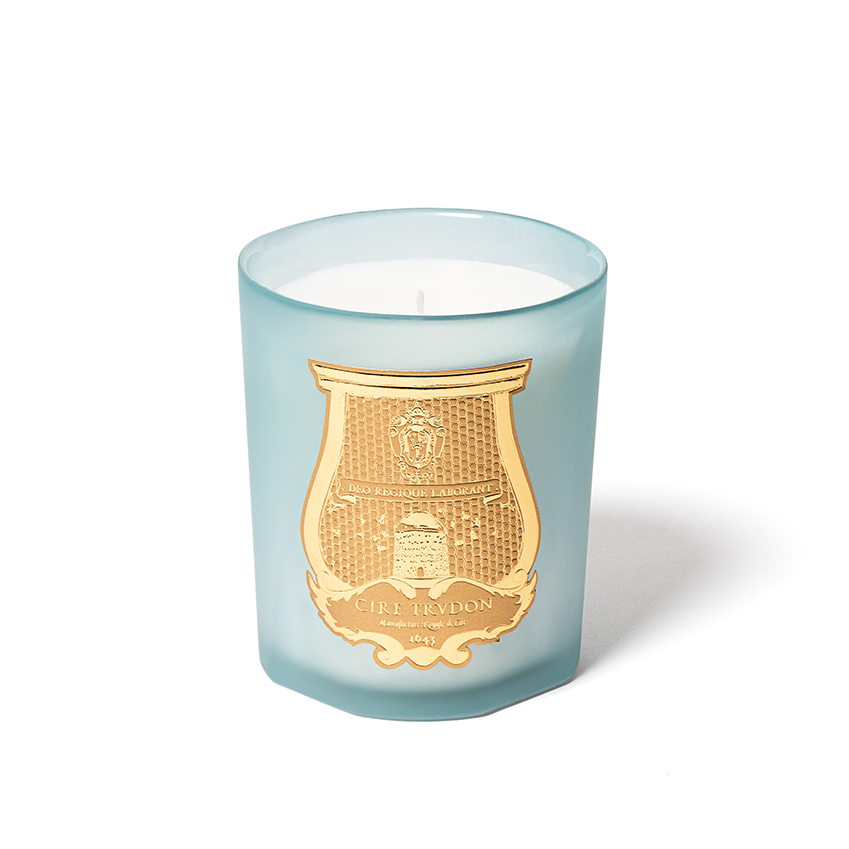 Cire Trudon's new 'Joséphine' scented candle is inspired by the Empress Joséphine, whose home Chateau de Malmaison was renowned for its magnificent rose garden. It's a summery floral blend of jasmine, camellia, iris and, of course, rose. £70 www.ciretrudon.com