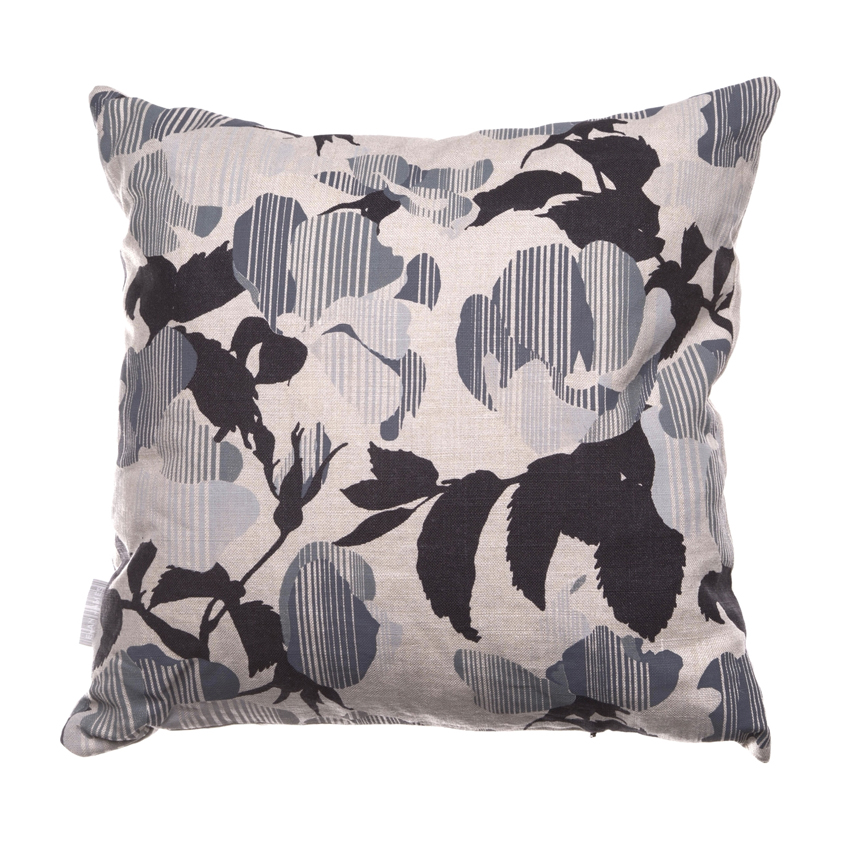 Emily Skinner graduated last year and her brand Evan James Design has created the 'Coded Rose' range – handprinted cushions that release a light rose scent when you lean on them.