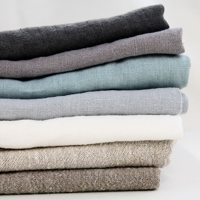 Linen, £20 per m, from Ada & Ina