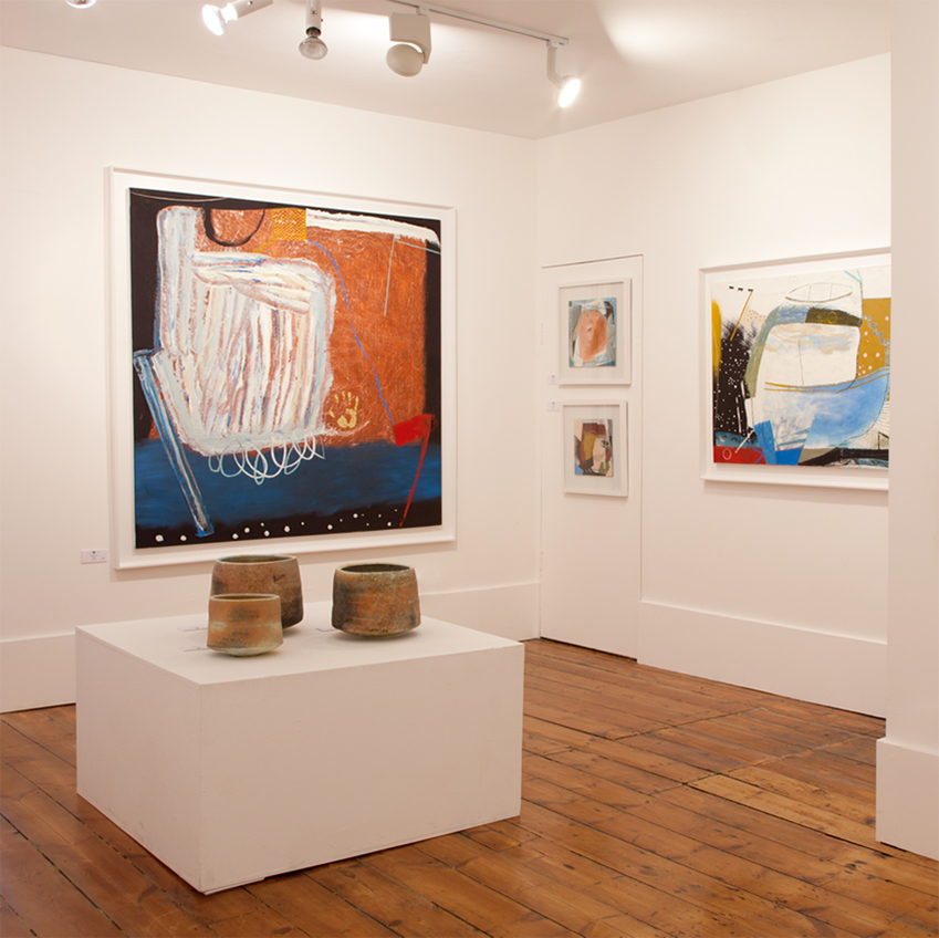 Image 2 of 8: The New Craftsman Gallery is the oldest gallery in the Cornish town of St Ives. Visit the bright, airy space to see paintings, sculptures, jewellery and ceramics