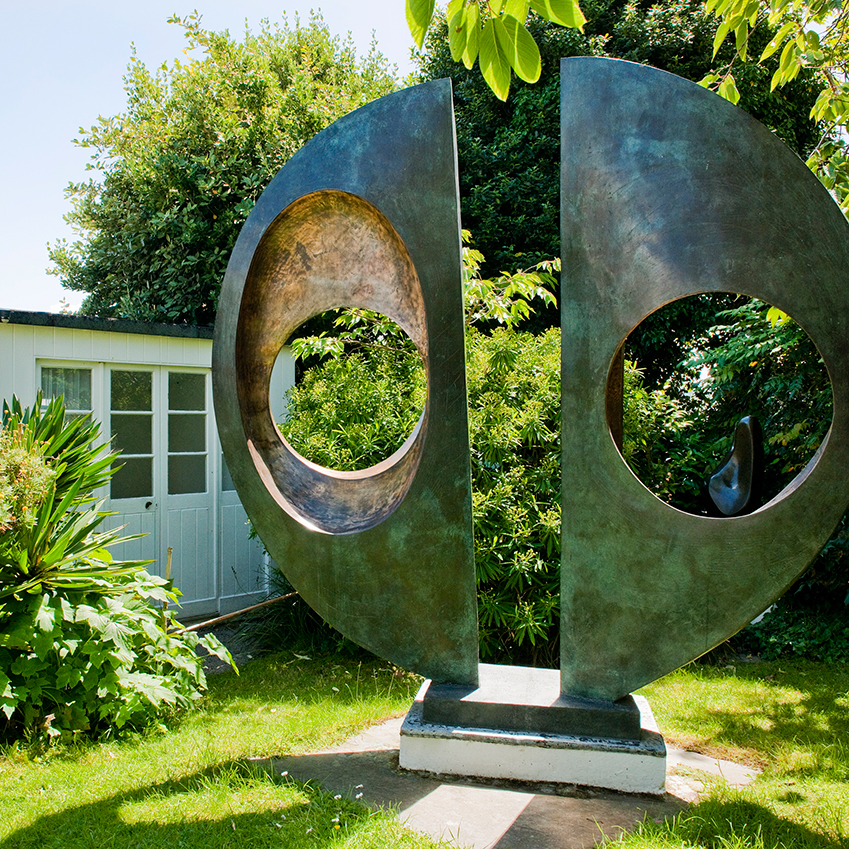 Image 5 of 8: The Barbara Hepworth Museum and Sculpture Garden in St Ives makes for a fascinating visit. Explore the artist's studio and see Hepworth's giant bronze sculptures displayed in the garden