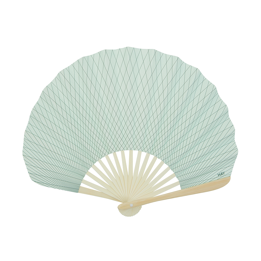 We love the minty green colour of this paper fan by Hay – perfect for cooling down in old-fashioned style. £8, Liberty (liberty.co.uk)